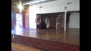 Chachi and Kanec at MILLENNIUM Dance Studio