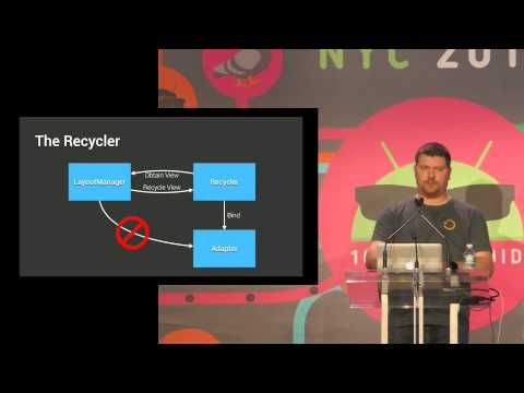 Droidcon NYC 2015 - Mastering RecyclerView Layouts