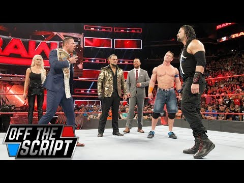 MAJOR BACKSTAGE NEWS ABOUT THE MIZ FRUSTRATED WITH WWE CREATIVE ON RAW - Off The Script #184 Part 1