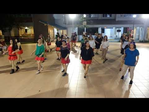 Bingo—Christmas Line Dance Party 9 Dec 2017 @ Tampines Changkat Zone 4 RC