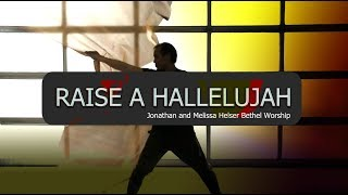 Worship Flags Dance Raise a Hallelujah by Jonathan and Melissa Helser Bethel ft David CALLED TO FLAG