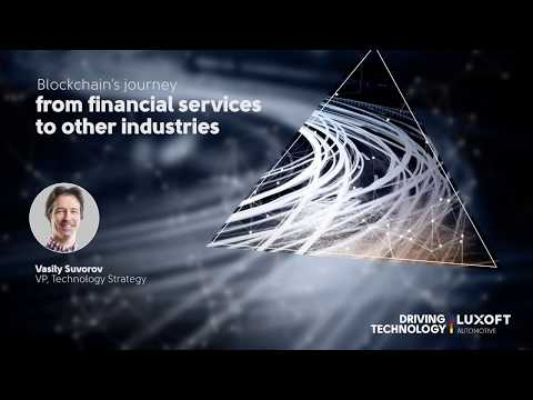 Blockchain's journey from financial services to other industries