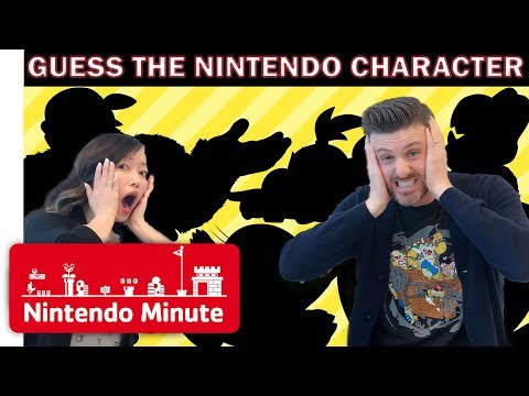 Guess the Nintendo Character Silhouette - Nintendo Minute