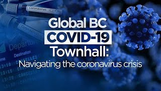 Coronavirus outbreak:  Dr. Bonnie Henry and Adrian Dix answer COVID-19 questions in BC Townhall