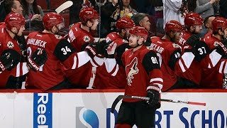Boedker tallies Hat Trick against the Senators