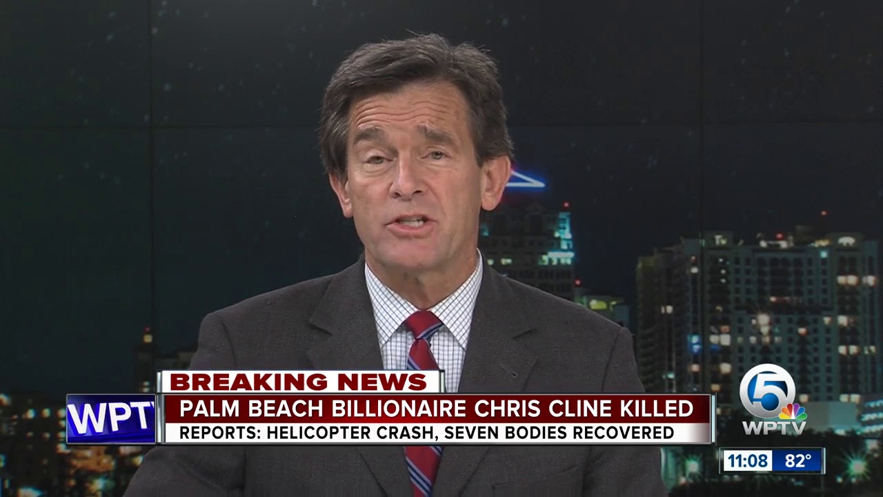 Billionaire Chris Cline, six others die in helicopter crash