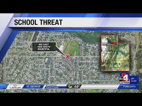 BOUNTIFUL SCHOOL THREAT