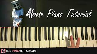 Baixar HOW TO PLAY - Marshmello - Alone (Piano Tutorial Lesson)