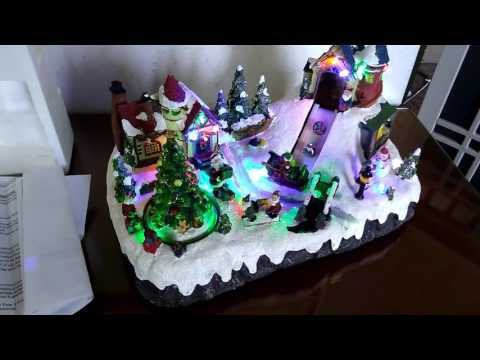 Holiday Living Musical Christmas Village #0477401