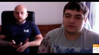 Встреча с основателями компании RedeX Андреем Головащенко и Александром Ковальчуком 08052017