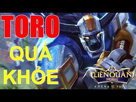 Trùm Tanker TORO vừa trâu vừa khỏe với cách lên đồ này! Ăn mạng vượt thời gian | Arena of Valor