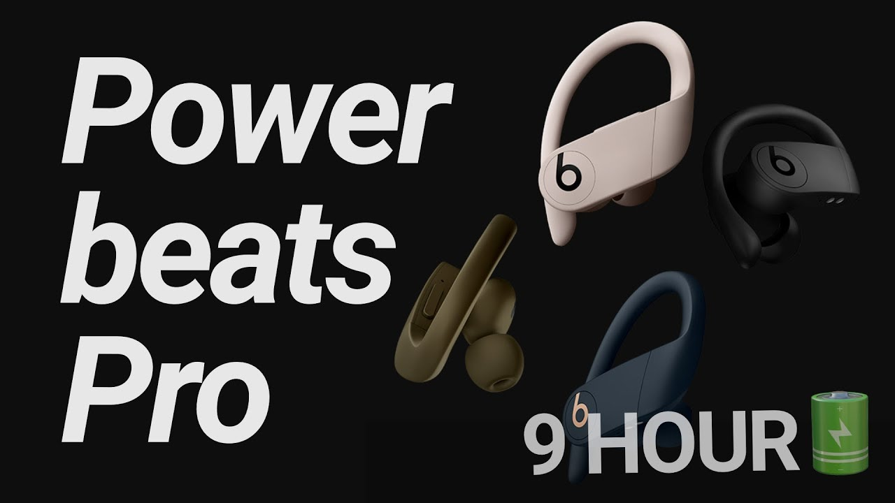 Beats announces first true wireless headphones, the Powerbeats Pro