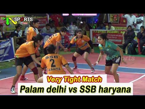 QF - Palam Sports Club, Delhi vs SSB Haryana | All India Women Kabaddi | Azhagappapuram 2019