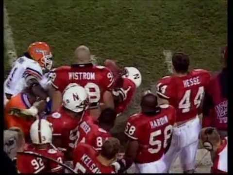 1996 Fiesta Bowl Nebraska vs. Florida 62-24 Part 2 of 2