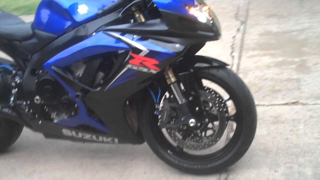 Suzuki Navy Blue Motorcycle