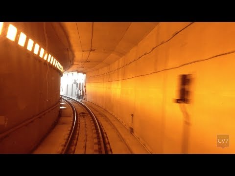 Edmonton LRT Capital Line in 4 Minutes (Time Lapse)