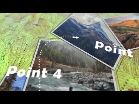 Animated Map Path Project For After Effects Videohive