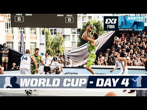 FIBA 3X3 World Cup 2017 - Nantes, France - Pool Phase - Day 4