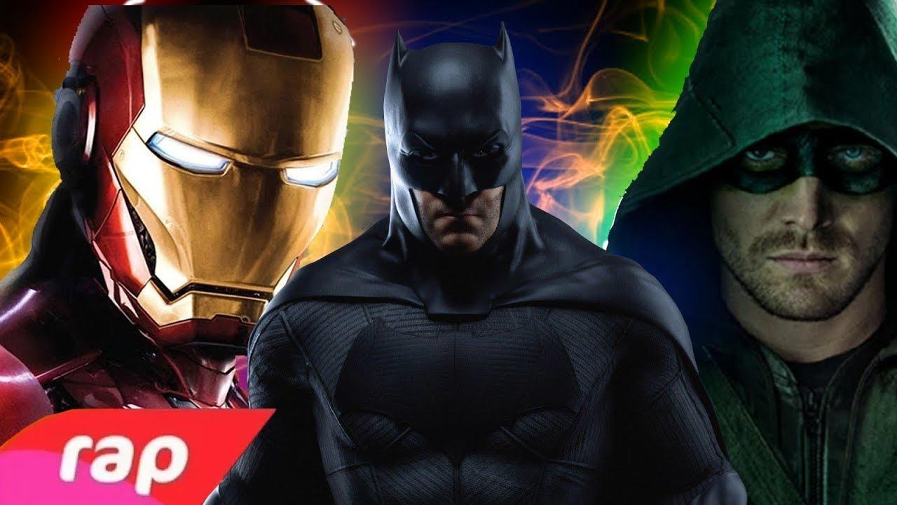 Download Rap do Homem de Ferro, Batman e Arqueiro Verde - SEM PODERES (REEDITADO)