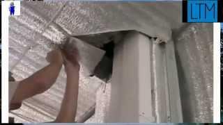 Вентиляция в доме, пластиковые воздуховоды - установка и монтаж(Вентиляция в доме с помощью пластиковых воздуховодов. Пример монтажа и установки воздуховодов в частном..., 2014-12-18T09:20:47.000Z)