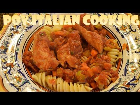Chicken Cacciatore: POV Italian Cooking Episode 43