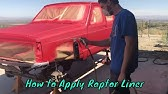 How to apply Raptor Liner on a Jeep.