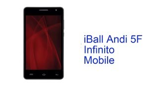 iball andi 5f infinito mobile specification india