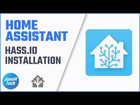 Home Assistant Part 1: Hass io Installation • JuanMTech