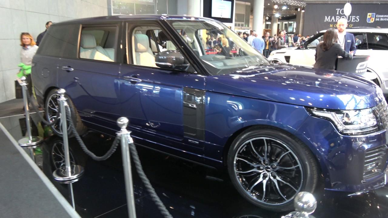 4k Overfinch London Edition Range Rover Long Wheelbase