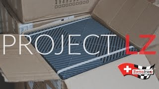The LZ Garage Project:  Designing/Ordering Swisstrax Flooring
