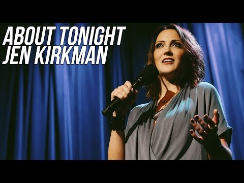 JEN KIRKMAN INTERVIEW - ABOUT TONIGHT (30/3/16)