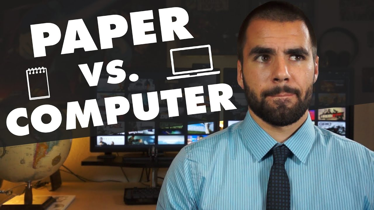 Should You Take Notes On Paper Or On A Computer