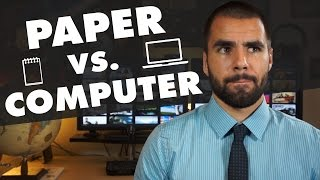 Should You Take Notes on Paper or on a Computer? - College Info Geek