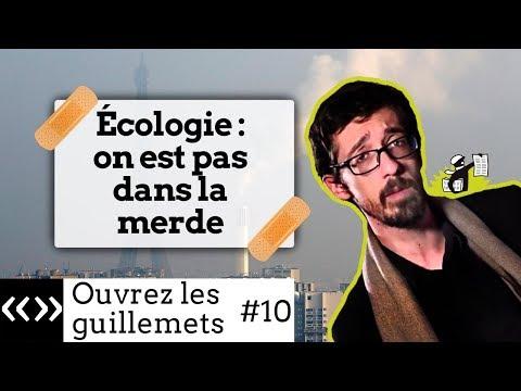 Écologie : on n'est pas dans la merde, par Usul