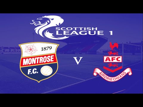 Montrose Airdrieonians Goals And Highlights
