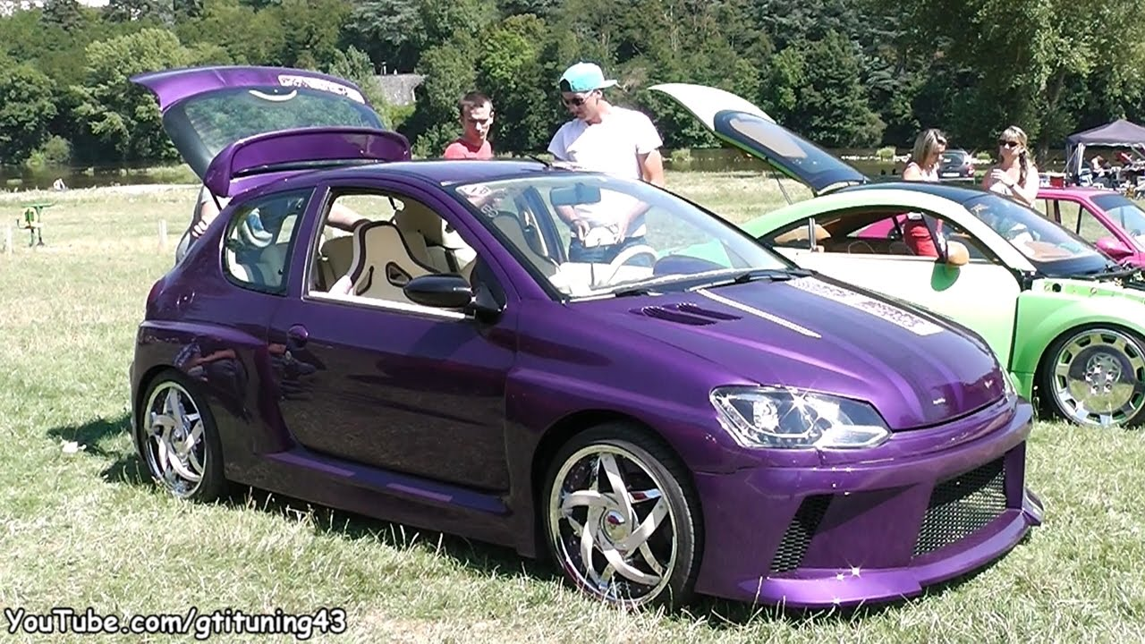 Tuning Extrême sur Peugeot 206 - YouTube