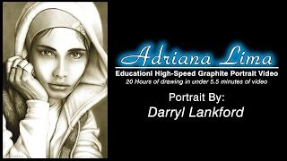 Adriana Lima - Educational Speed Drawing