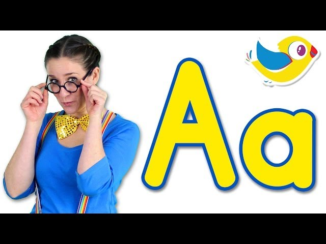 The Letter A Song - Learn the Alphabet