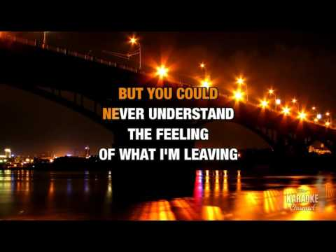 Saving My Face in the style of K.T. Tunstall | Karaoke with Lyrics