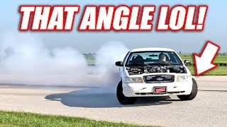 Supercharged Cop Car Goes DRIFTING! WIDE OPEN Power Slides!