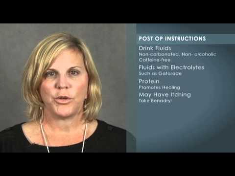 Video about Liposuction Post-Operative Instructions