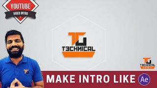 How To Make Intro Like Techinical Guruji Full Hindi Tutorial Easy