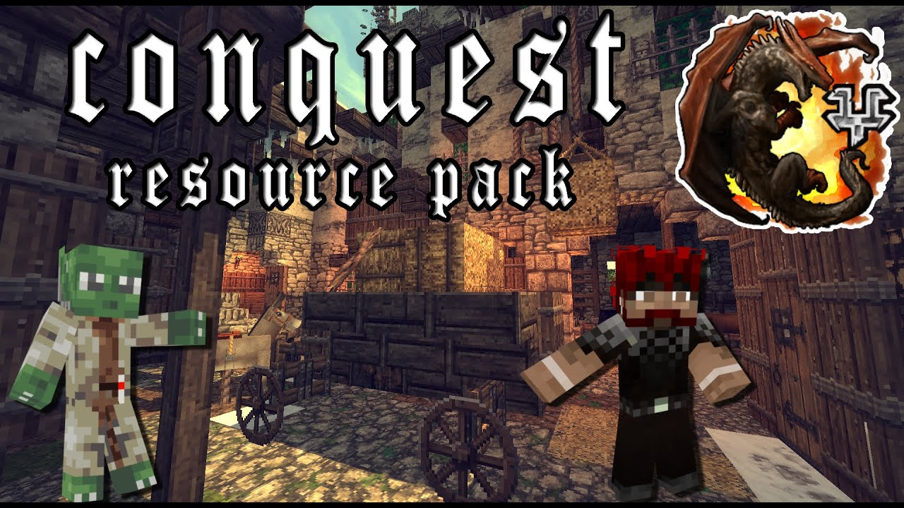 how to get conquest texture pack