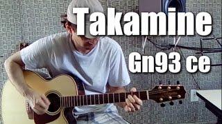Teste(Review) Takamine GN93 CE - Sonzão!