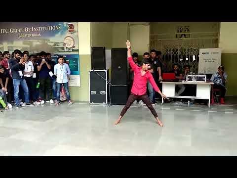Best Dance ever at college #IECinnovision2K18 (DANCE- ANKIT IEC) #echosmart.