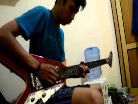 vierra - terlalu lama guitar cover by ikhsan mursad