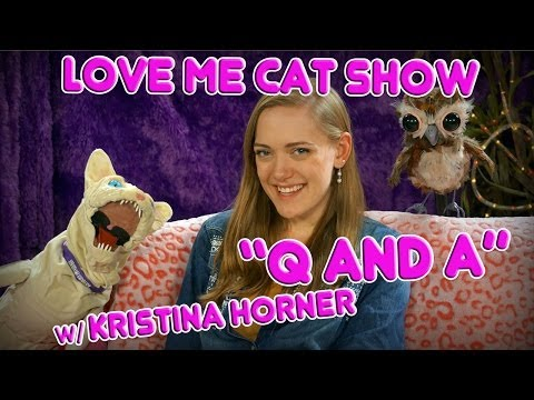 The Love Me Cat   Q and A with Kristina Horner