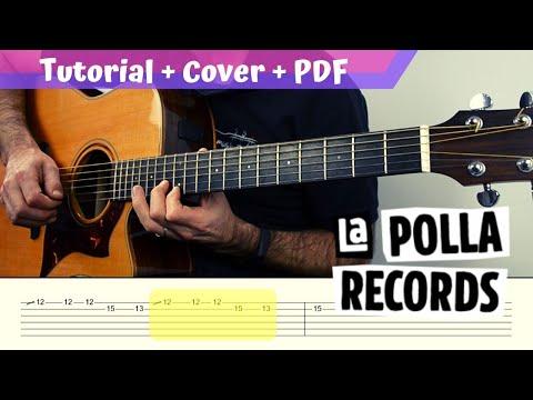 No Somos Nada | LA POLLA RECORDS | PDF GRATIS + TUTORIAL + COVER |