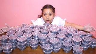 فتحنا في بيتنا أكبر  بقالة  سلايم ! 150 حبة سلايم !!😱