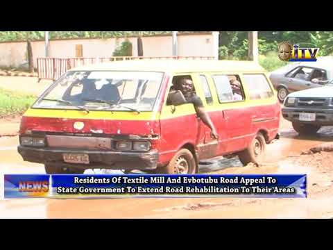 Residents Of Textile Main Road Appeal To EDSGTo Extend Road Rehabilitation To Their Areas